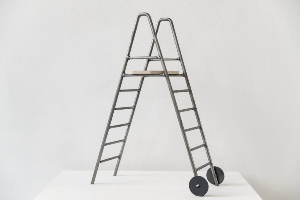 Pont d'observation, maquettes 1/10e, ®SBinoux