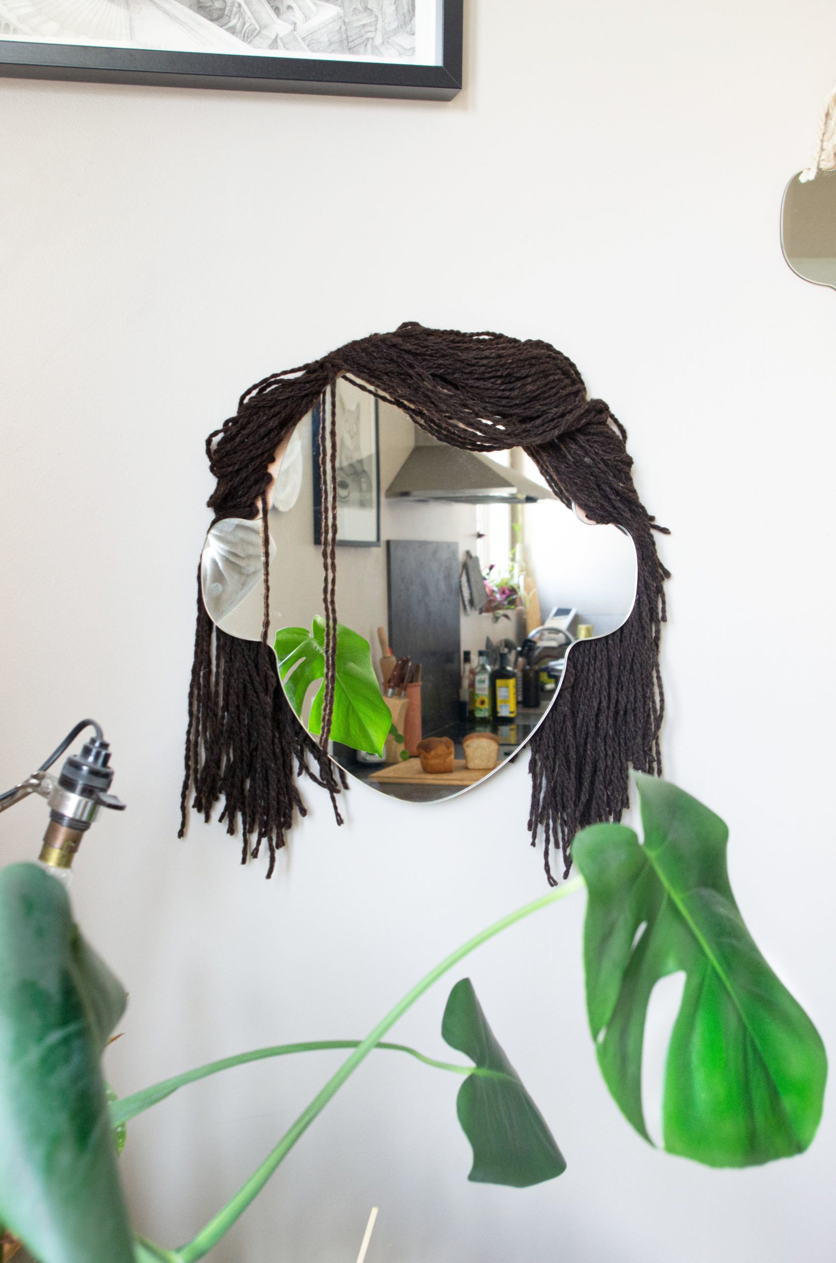 Miroir Alice - coupe courte - coloris BURREL