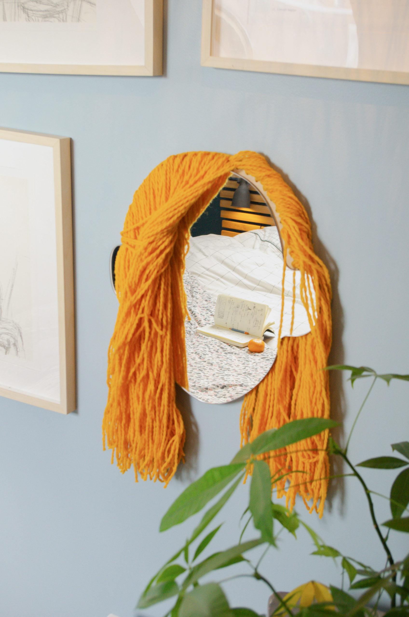 Miroir Alice - coupe longue - coloris SOLEIL